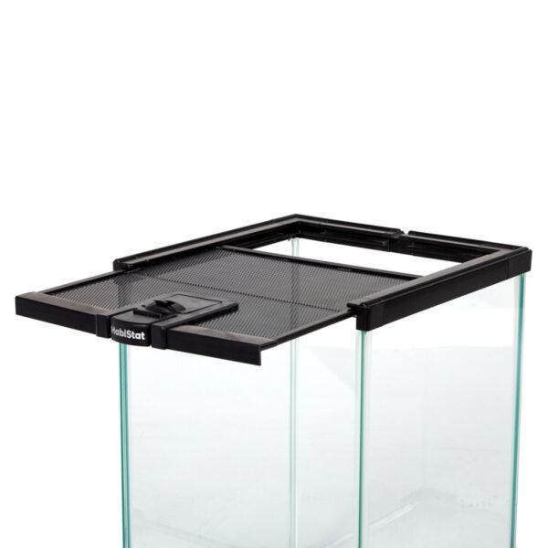 HabiStat Mini Glass Terrarium sliding lid.